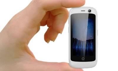 دنیا کا سب سے چھوٹا ف4جی موبائل کی شہرت