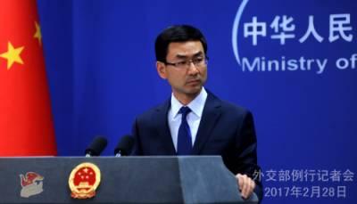 چین کا امریکی تھاڈ سسٹم کے حوالے سے فوجی مشقیں شروع کرنے کا اعلان