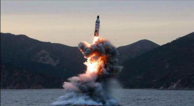 شمالی کوریا کا بیلسٹک میزائل تجربہ،