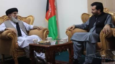 گلبدین حکمت یار افغانستان واپس لوٹ آئے، حکومتی عہدیداروں سے ملاقاتیں