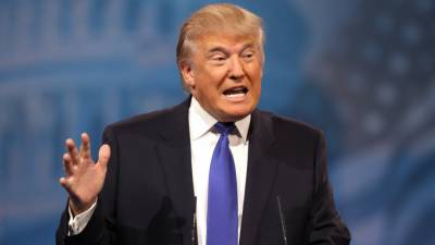 ڈونلڈ ٹرمپ کی ریلی میں خطاب کے دوران امریکی میڈیا پر تنقید