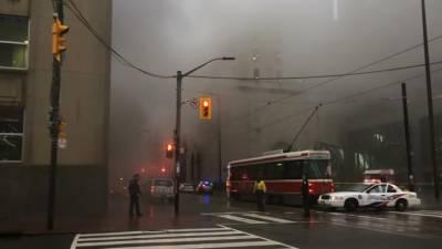 کینیڈا: ٹورنٹو میں ریلوے اسٹیشن کے قریب دھماکا