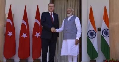 بھارت نے مسئلہ کشمیر پر ترک صدر کی ثالثی کی پیشکش مسترد کر دی