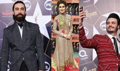 پاکستانی فلمی شخصیات کی پانچویں ''ہم ایواڈ ''کی تصاویر جاری