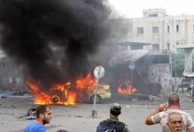 شام میں مہاجرین کے کیمپ پر داعش کےخود کش حملے میں 32 افراد جاں بحق