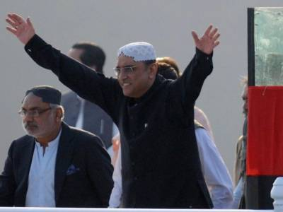 وزیراعظم کاغذی شیر ہیں ، آصف علی زرداری