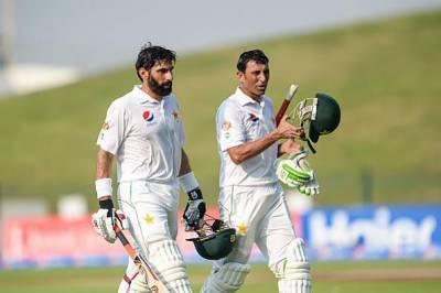 مصباح الحق اور یونس خان اپنے ٹیسٹ کیریئر کا آخری میچ 10مئی کو کھیلیں گے