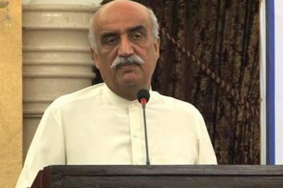 خورشید شاہ کا گورنر سندھ سے مستعفیٰ ہونے کا مطالبہ