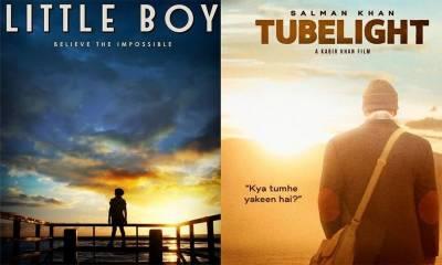 'ٹیوب لائٹ'ہالی ووڈ فلم 'لٹل بوائے' کی نقل ہے