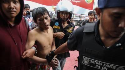 انڈونیشیا میں 200 قیدی جیل توڑکر فرار،70دوبارہ گرفتار