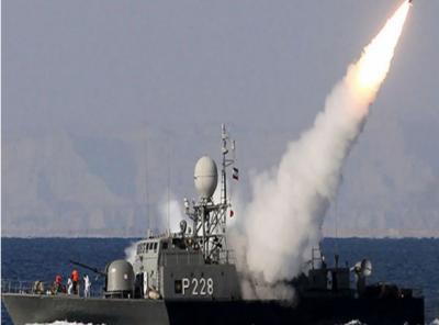 ایران نے انتہائی تیز رفتار بحری میزائل کا تجربہ کر لیا