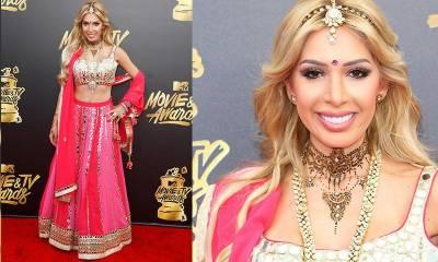 ہالی ووڈ اداکارہ فرح ابراہم کے دیسی لباس نے لوگوں کو چونکا دیا