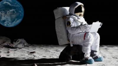 چاند پر زمین سے زیادہ تیز لیزر انٹرنیٹ موجود ہے