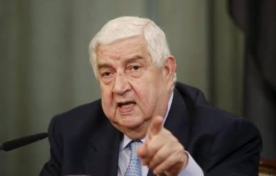 شام نے 4 محفوظ زونز کے نفاذ کی نگرانی میں اقوام متحدہ کے کردار کو مسترد کر دیا، وزیر خارجہ