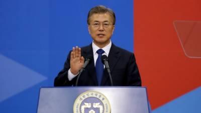 جنوبی کوریا کے نئے صدر نے شمالی کوریا کادورہ کرنے کا اعلا ن کر دیا