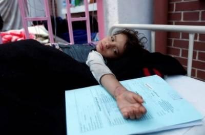 یمن میں ہیضے کے باعث 34 افراد ہلاک ، 2000 سے زائدمتاثر ہوئے ہیں،عالمی ادارہ صحت