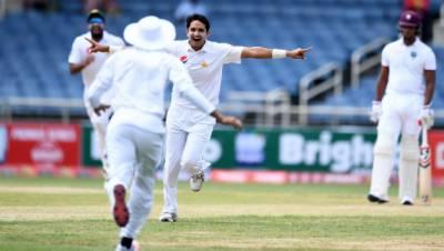 ڈومنیکا ٹیسٹ : آخری روز ویسٹ انڈیز کو جیت کےلئے 297 اور پاکستان کو 9 وکٹیں درکار ہیں
