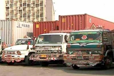 کراچی میں گڈزٹر انسپورٹرز کی ہڑتال کا سلسلہ جاری