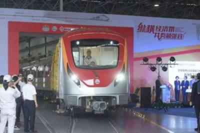 اورنج لائن منصوبے کی پہلی ٹرین جولائی میں پاکستان لائی جائیگی