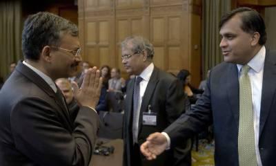 آئی سی جے میں کلبھوشن کی سماعت کے دوران پاک بھارت حکام میں تلخی
