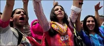 پشاور میں خواجہ سراوں نے صدرفرزانہ کیخلاف علم بغاوت بلند کردیا ،لیلیٰ کو نیا صدر بھی چن لیا