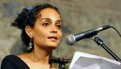مقبوضہ کشمیر میں بھارتی مظالم شرم ناک ہیں: ارون دھتی رائے