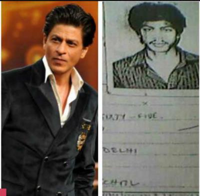 شاہ رخ خان کا کالج رزلٹ کارڈ سوشل میڈیا پر وائرل