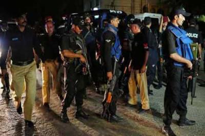 پولیس اور سکیورٹی فورسز کا سرچ آپریشن، 68مشتبہ افراد گرفتار