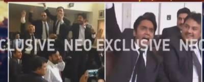 وزیراعظم کے استعفے کا مطالبہ، لاہور ہائیکورٹ بار میں وکلا کنونشن میں ہنگامہ آرائی