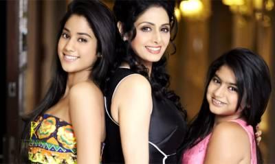 سری دیوی نے اپنی بیٹیوں کی سیلفیاں بند کروادیں