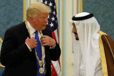 سعودی عرب نے امریکی صدر ٹرمپ کو اعلٰی ترین شہری اعزاز سے نواز دیا