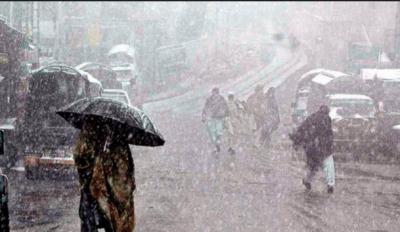 آئندہ دو دنوں میں ملک کے مختلف حصوں میں بارشیں متوقع ،محکمہ موسمیات