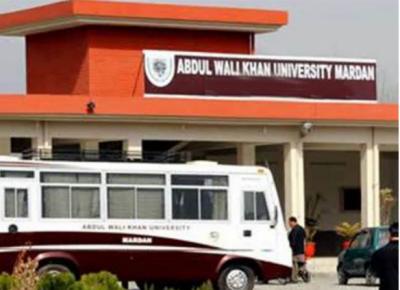 مردان: عبدالولی خان یونیورسٹی میں سرچ آپریشن ، ہاسٹلز سے اسلحہ اور نشہ آور ادویات برآمد