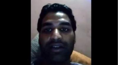 بھارتی نوجوان نے اپنے ویڈیو پیغام کے بعد خودکشی کر لی ،ویڈیو سوشل میڈیا پر وائرل