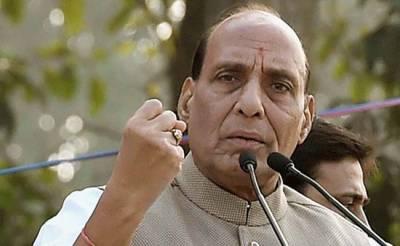موجودہ حکومت کے اقتدار میں ہی مسئلہ کشمیر کا مستقل حل نکالا جائیگا، راج ناتھ سنگھ
