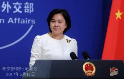 قومیسلامتی کو نقصان پہنچانے والوں کی تحقیقات کا قانونی مینڈیٹ رکھتے ہیں:چینی وزارت خارجہ