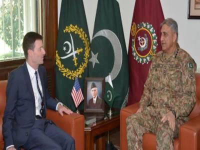 آرمی چیف سے امریکی سفیر کی ملاقات، عرب ملک ڈونلڈ ٹرمپ کے خطاب سے متعلق گفتگو