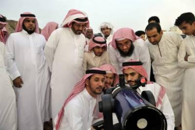 جدہ: سعودی عر ب میں رمضان المبارک چاند کی تلاش کے لیئے شہریوں سے اپیل کر دی