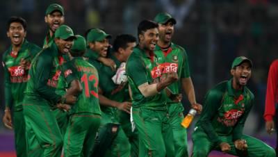 سہ ملکی کرکٹ سیریز میں بنگلہ دیش نے نیوزی لینڈ کو 5وکٹوں سے شکست دے دی