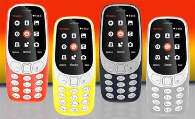 نوکیا کا 3310 فون فروخت کے لیے بازار میں دستیاب