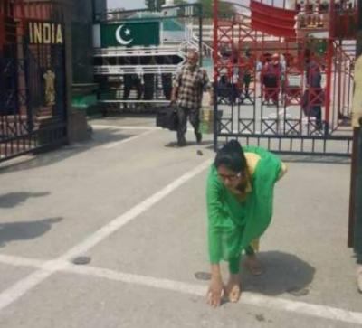 ڈاکٹر عظمیٰ کے بھارت پہنچتے ہی تیور بدل گئے