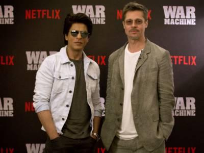 شاہ رخ خان براڈ پٹ کے ڈانس ٹیچر بن گئے