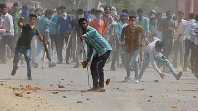 شمالی بھارت میں مختلف ذات کے لوگوں میں تصادم کے بعد موبائل انٹرنیٹ سروس بند