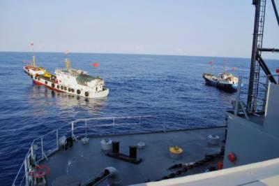 چین کی اپنی سمندری حدور میں امریکی بحری جنگی کشتی کے گشت کی سخت مذمت