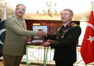 چیئرمین جوائنٹ چیفس آف سٹاف کمیٹی جنرل زبیر محمود حیات کو لیجن آف میرٹ ایوارڈ سے بھی نوازا گیا