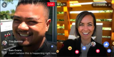فیس بک لائیو ویڈیو کو دوستوں تک محدود کیا جاسکتاہے