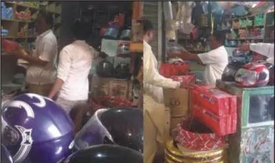 ہنڈ ا موٹر سائیکل کے جعلی سپیئر پارٹس تیار کرنے والوں کے خلاف کارروائی