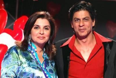 فرح خان کا دوبارہ کنگ خان کیساتھ فلم بنانے کا اعلان