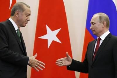 ترکی روس کیساتھ اسٹریٹیجک قربت مزید بڑھانے کا خواہش مند