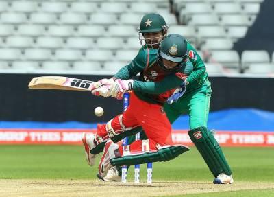 وارم اپ میچ، پاکستان کی بنگلہ دیش کیخلاف2 وکٹوں سے فتح